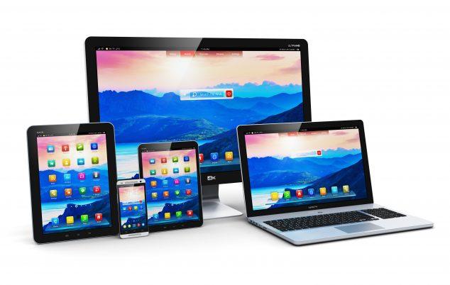 Desktop, laptop and tablet rentals