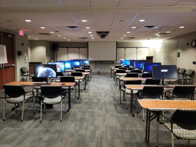 A desktop rental for a small training class