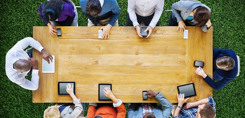 Using tablets for portable business functions